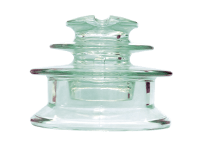 Штыревой стеклянный изолятор типа ШС