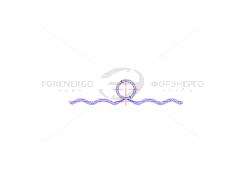 Вязка спиральная ВС 70/95.1-ПУ