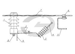 Устройство защиты от перенапряжений УЗПН-20-ОЛ