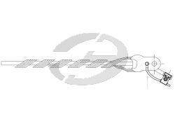 Зажим натяжной спиральный HC-95