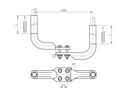 Зажимы аппаратные прессуемые типа 2А4А