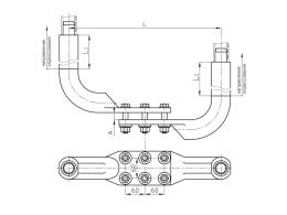 Зажимы аппаратные прессуемые типа 2А6АП