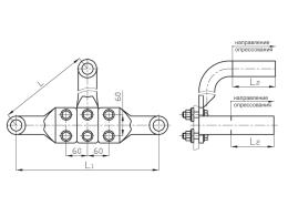 Зажимы аппаратные прессуемые типа 3А2А