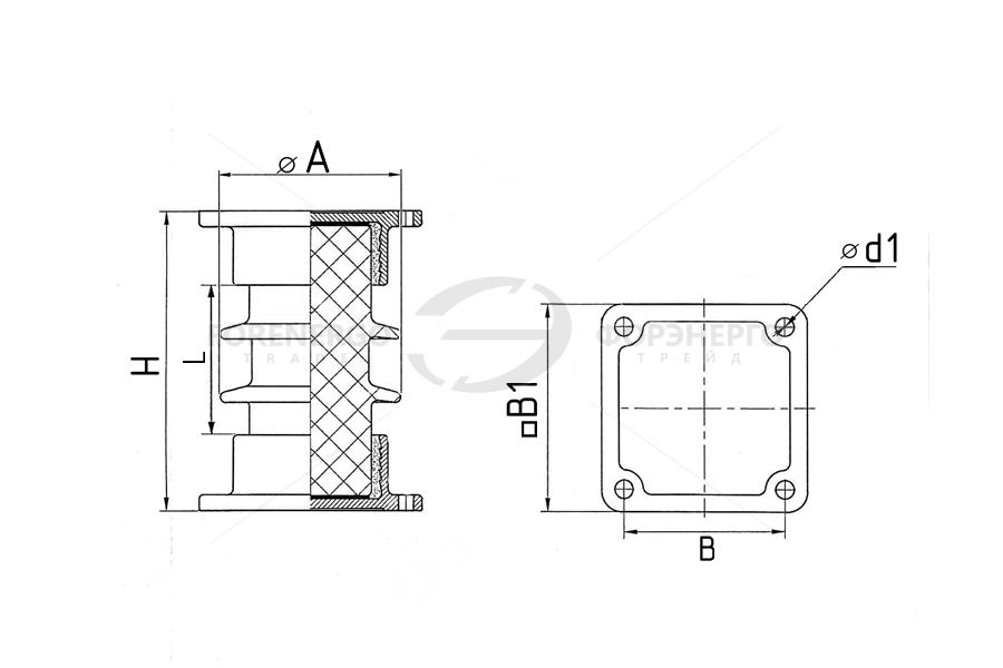Изоляторы опорные стержневые фарфоровые типа ИОС 10