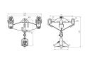 Зажим поддерживающий глухой 3ПГН2-6-3