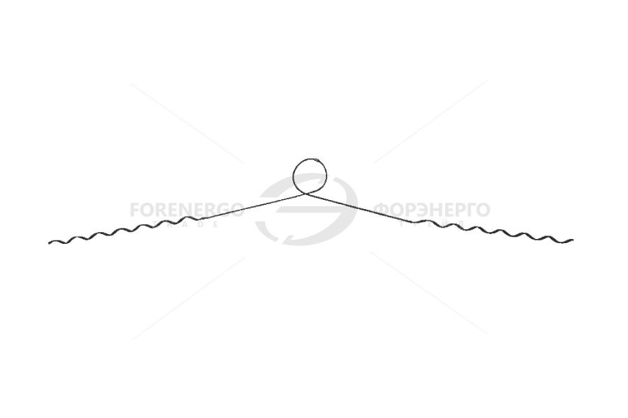 Вязки спиральные типа ПВС (зажимы спиральные)