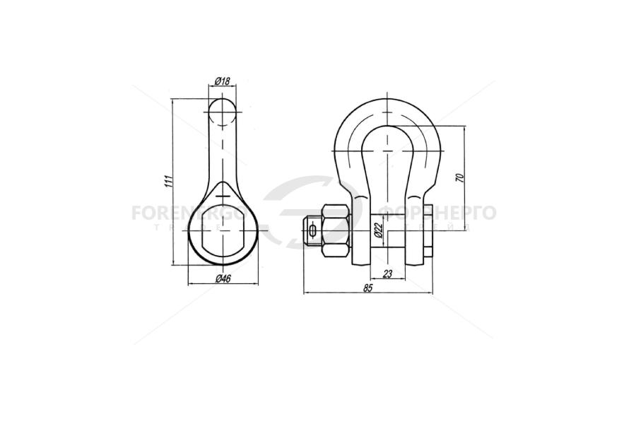 Скобы типа СК-70-1Б И СК-120-1Б