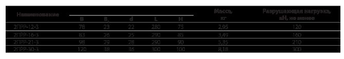 Звенья промежуточные специальные типа 2ПРР (усиленные)