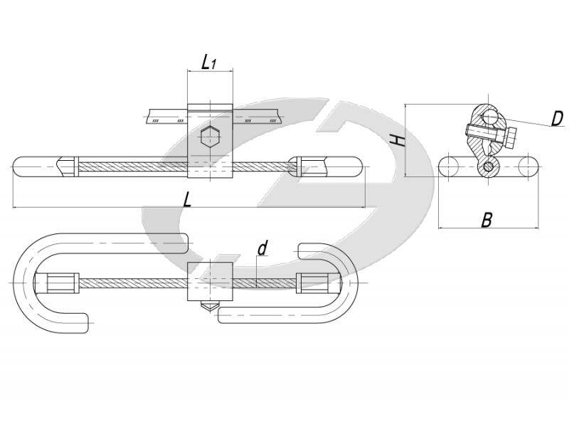 Несимметричные гасители вибрации типа ГВ