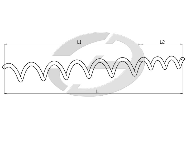 Спиральные гасители вибрации типа ГВС