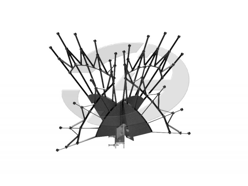 Устройство защиты птиц от поражения электрическим током на ВЛ антиприсадочного типа ЗП-АП2-2