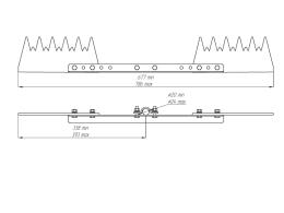 Устройство защиты птиц от поражения электрическим током на ВЛ антиприсадочное ЗП-АП6Ш2