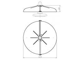 Устройство защиты птиц от поражения электрическим током на ВЛ барьерного типа ЗП-ЭС1М