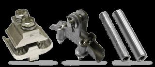 Арматура для СИП-3 ВЛЗ 6-35 кВ и устройства защиты от перенапряжения