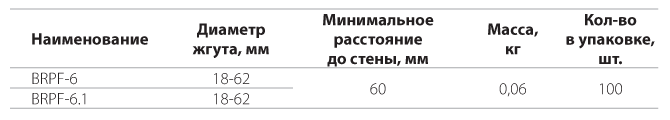 Фасадное крепление BRPF-6, BRPF-6.1