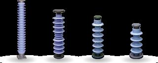 Изоляторы опорные полимерные стержневые
