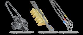 Приспособления для захвата и тяжения проводов и тросов