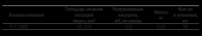 Анкерный кронштейн  CAT-1500
