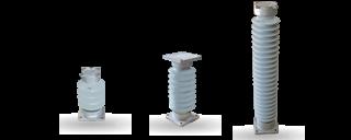 Изоляторы опорные фарфоровые стержневые